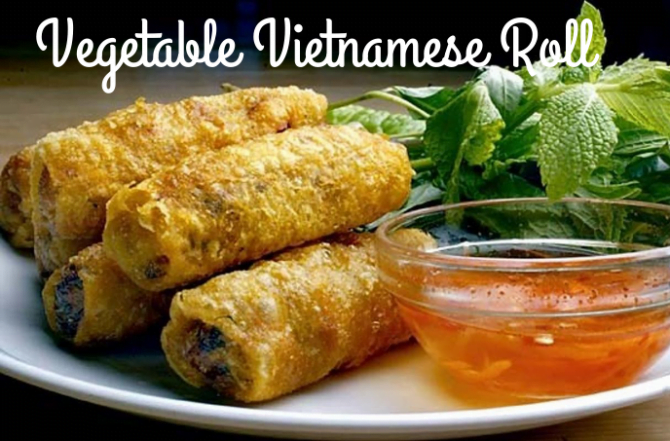 Vegetable Vietnamese Roll